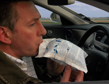 From 1st July 2012 all motorists in France will need to carry a twin pack of disposable breathalysers