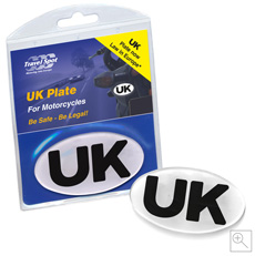 Motorcycle GB Plate