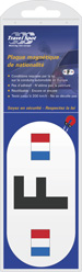 Magnetic Nationality Plate - French